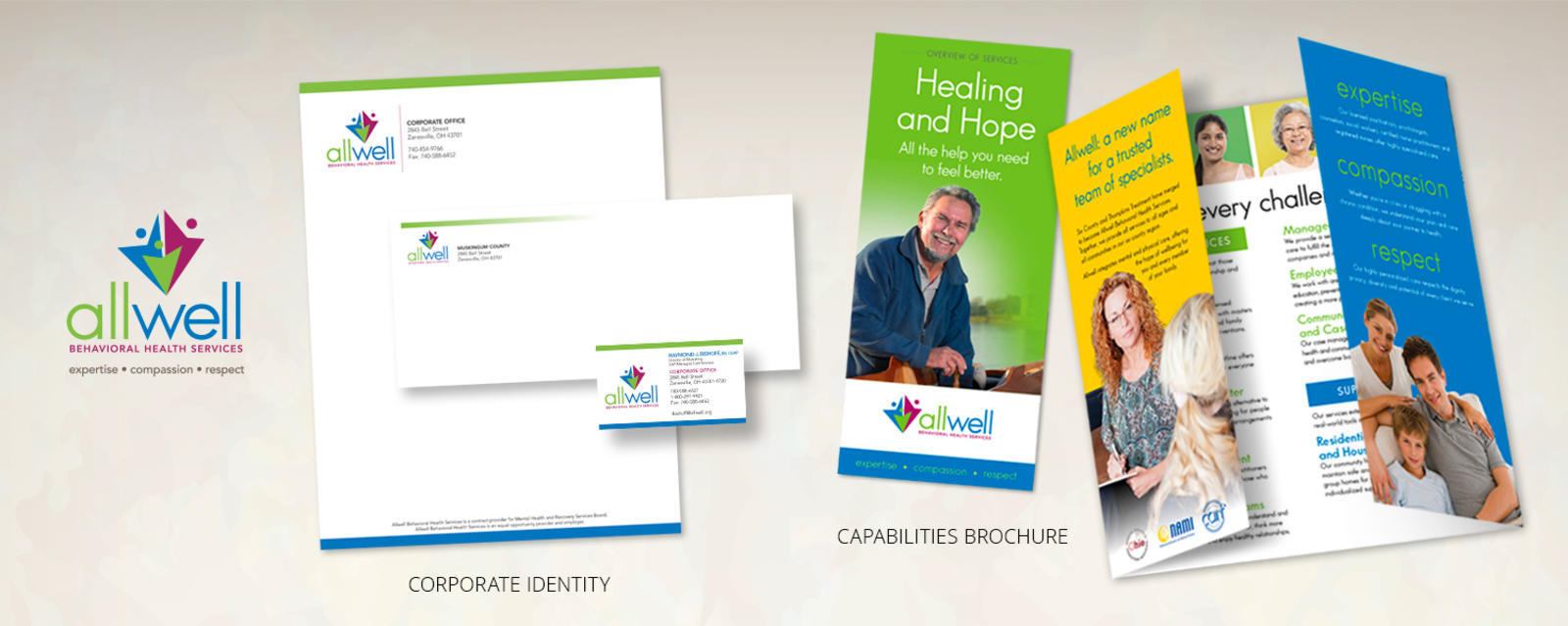 Corporate ID and Capabilities Brochure